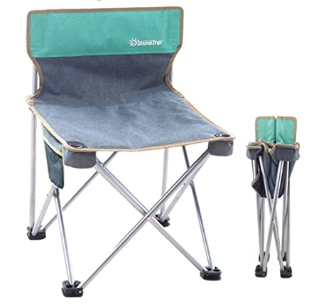 JHNEA Playa Silla de Camping, Quad Mesh Back Sillas ...