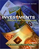 Investments : Analysis and Management, Cleary, W. Sean and Jones, Charles P., 0471645303