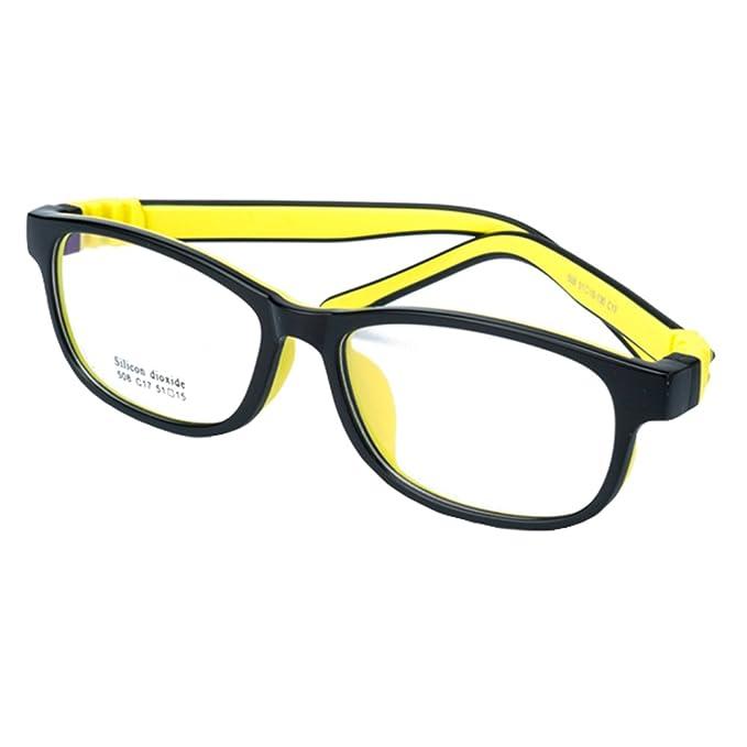Juleya Marco para gafas para niños - Silicona - Gafas de lectura ...
