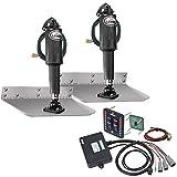 """Lenco 9"""" x 18"""" Standard Trim Tab Kit w/LED Indicator Switch Kit 12V"""