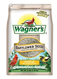 Wagner\'s 57075 Safflower Seed, 5-Pound Bag