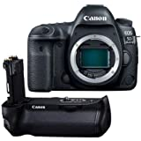 Canon EOS 5D Mark IV DSLR Body with Canon Log - With Canon BG-E20 Battery Grip