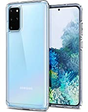 SPIGEN [Ultra Hybrid] Galaxy S20+ PLUS Case Cover with Shockproof Bumper and Premium Clarity Designed for Samsung Galaxy S20 PLUS (2020) - Crystal Clear