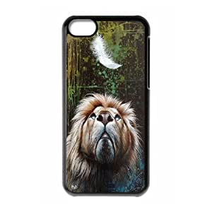 High Quality Phone Back Case Pattern Design 5King Lion- For Iphone 5c