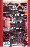 Histoire de France et d'Europe
