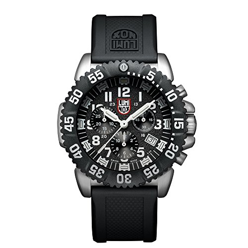 Luminox Navy SEAL Colormark Chronograph Black Dial Mens Watch (Luminox Divers Watch)