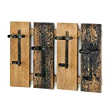 Smart Living Company Rustic Wall Mounted Wine Rack For Sale