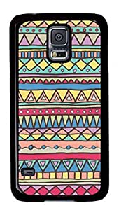 iCustomonline Aztec Tribal Pattern STYLE-82 Case For Samsung Galaxy S5 PC Material Black by mcsharks