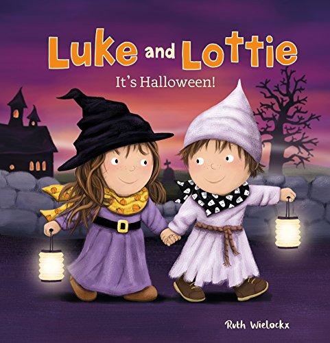 Luke and Lottie. It's Halloween! -
