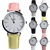 Women Quartz Watches COOKI Clearance Female Watches on Sale Lady Watches Cheap Watches Leather Watch-Q1