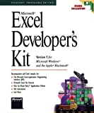 Microsoft Excel Developer's Kit: Version 5 for Microsoft Windows and the Apple Macintosh (Microsoft Professional Reference)