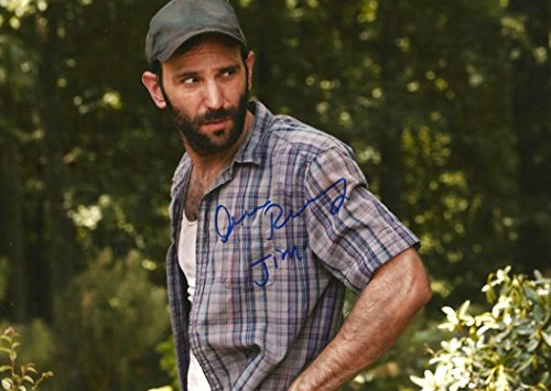 Andrew Rothenberg ACTOR THE WALKING No more autograph, In-Person signed photo