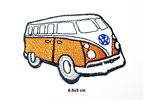 vw camper orange - 7