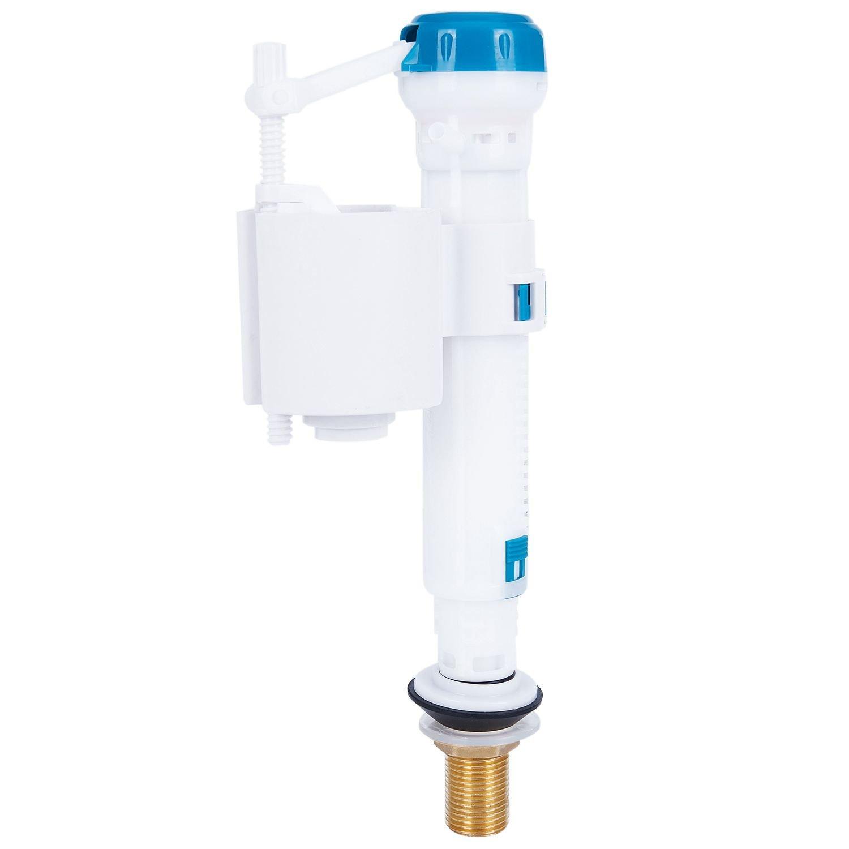 TOOGOO Valvula de llenado de entrada ajustable para Wc Cisterna Entrada inferior laton 1/2