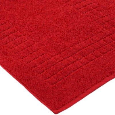 Linens Limited Supreme–Telo da bagno in cotone egiziano 100%, rosso