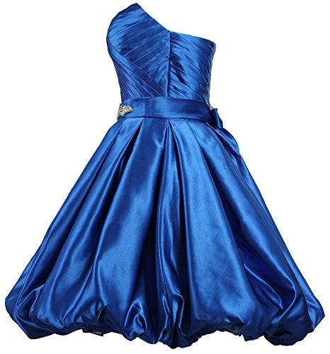 Satin Silver ANTS Prom Short Dresses Dress Strapless Women's Fluffy nTqTx76Aw