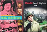 Hetty Wainthropp Investigates : The Complete Second Season : A British Murder She Wrote , PLUS Murder Most English Complete Uncut 7 Episode Mini Series : 2 Pack Gift Set : 640 Minutes