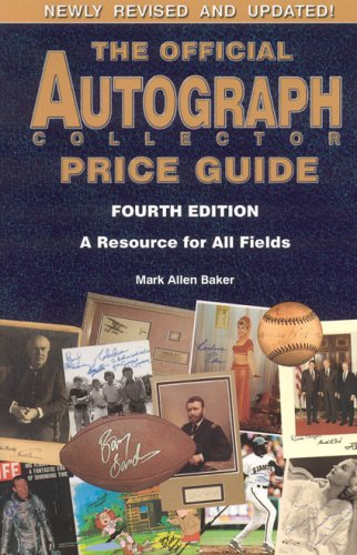 The Official Autograph Collector Price Guide