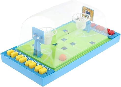 P Prettyia Juego de Mesa de Baloncesto, Juguetes Educativos interactivos Dentro del Juego de Jugadores: Amazon.es: Juguetes y juegos