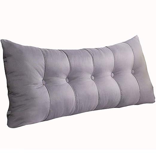MEI XU Pillow Cojín para la cama - Cojín rectangular para ...