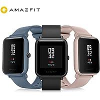 International Version Amazfit Bip lite Smart Watch 3ATM Swimming Watch Huami BIP 2 Smartwatch 45 Days Battery Android iOS (Pink)