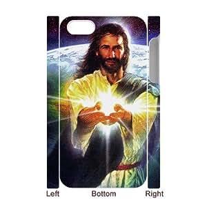 3D Bumper Plastic Case Of Jesus customized case For Iphone 4/4s wangjiang maoyi
