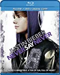 Cover Image for 'Justin Bieber: Never Say Never (DVD/Blu-ray Combo)'