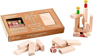 Milaniwood- Palacio Loco Juego de Habilidad, Multicolor (MCZPX001): Amazon.es: Juguetes y juegos