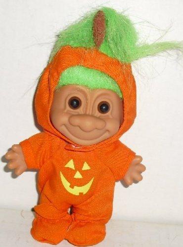 My Lucky Troll Halloween Jack O Lantern Pumpkin by Russ Troll -