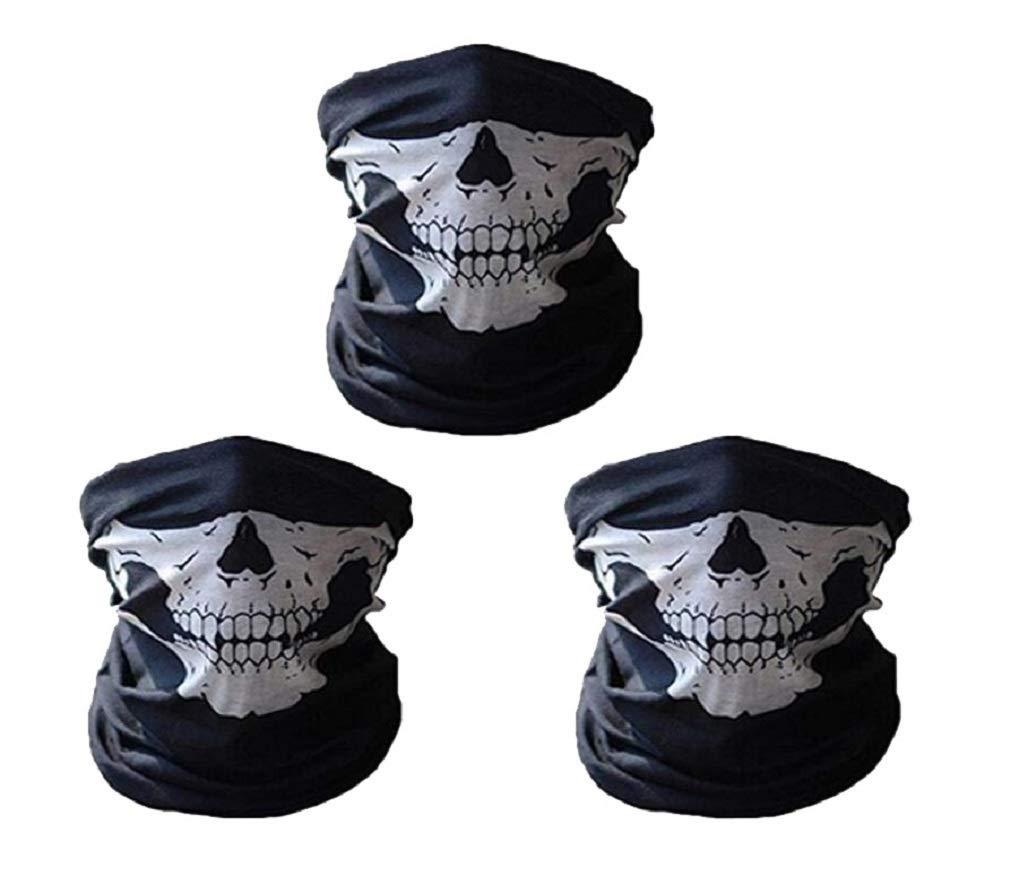 JBR Lot de 3 bandana multifonction avec motif original pour le visage