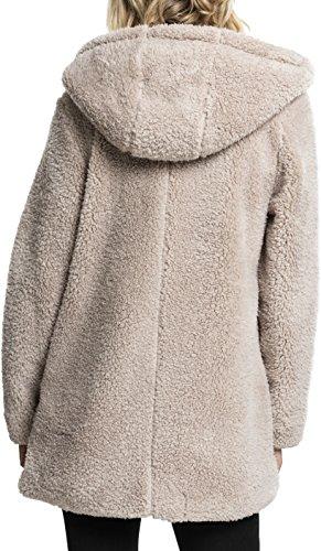 Urban Donna sand 208 Felpa Sherpa Jacket Ladies Classics Beige r6gAxrq7Hw