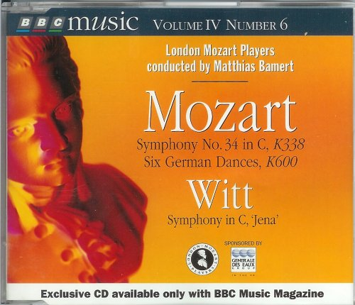 Mozart Symphony No.34 in C, K338 Six German Dances; for sale  Delivered anywhere in USA