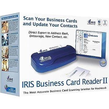 Iris business card reader ii ipod compat mac amazon electronics iris business card reader ii ipod compat mac reheart Gallery