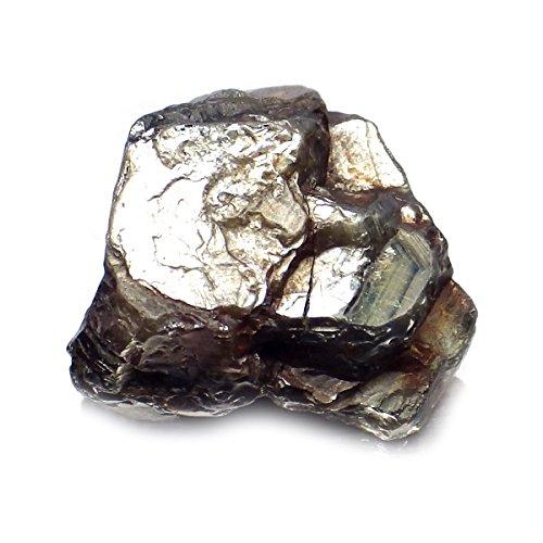 8.93 Ct. Unheated Natural Rough Black Star Sapphire Madagascar Specimen Gemstone