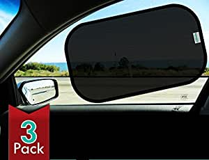 "Car Sun shade(3px)-80 GSM for Maximum UV protection-Extra large-20""x12""sunshades"