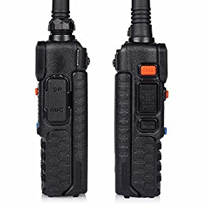 BaoFeng 2pcs UV-5RTP 2 Pack Baofeng UV-5RTP Tri-Power 8/4/1W Two-Way Radio Transceiver
