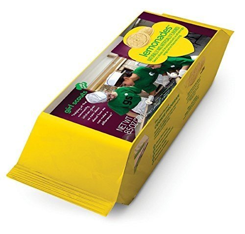 (Lemonades Girl Scout Cookies 1 package 8.5 oz ABC Bakers)