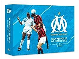 Lagenda-calendrier Olympique de Marseille 2018