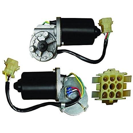Partes reproductor nuevo limpiaparabrisas motor se ajusta a la mayoría de autobús Sprague aplicaciones Valeo: Amazon.es: Coche y moto