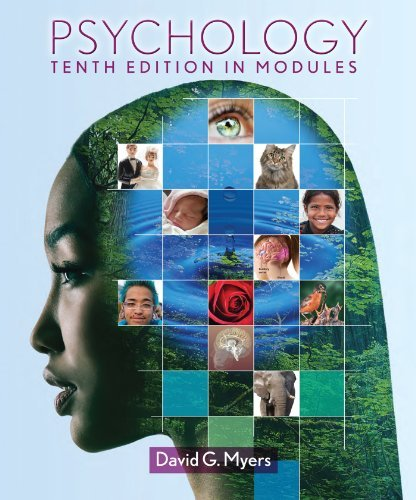 Psychology in Modules (Loose Leaf) & PsychPortal Access Card [Paperback] [2012] Tenth Edition Ed. David G. Myers pdf