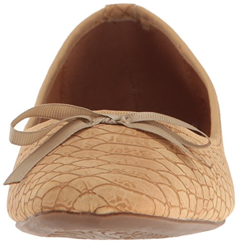 Flat Croc Callisto Women's Beige Ballet Barnett qxt4gtz
