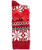 Charter Club Women's Touch of Cashmere Nordic Snowflake Socks