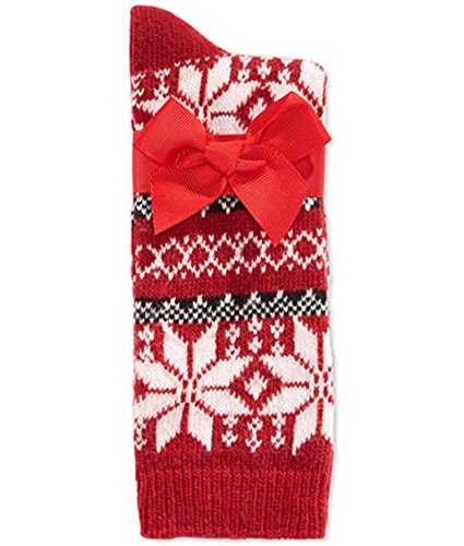 Charter Club Women's Touch of Cashmere Nordic Snowflake Socks by Charter Club