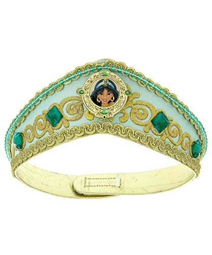 [Disney Parks Princess Jasmine Dress Up Costume Crown Tiara] (Princess Jasmine Costumes Tiara)