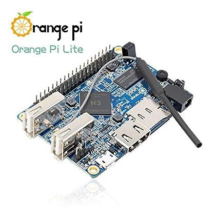 Amazon com: LoveRPi Orange Pi Lite Single Board Computer with Quad