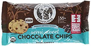 Equal Exchange Organic Chocolate Chips Semi Sweet, 10 oz