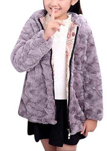 Faux Rabbit Fur Coat - 6