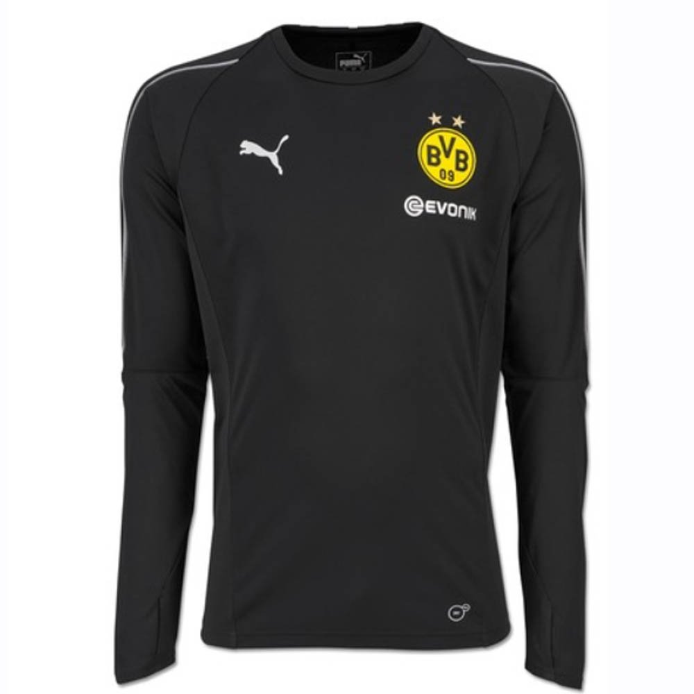 Puma Herren BVB Ls with Sponsor Logo Training Jersey