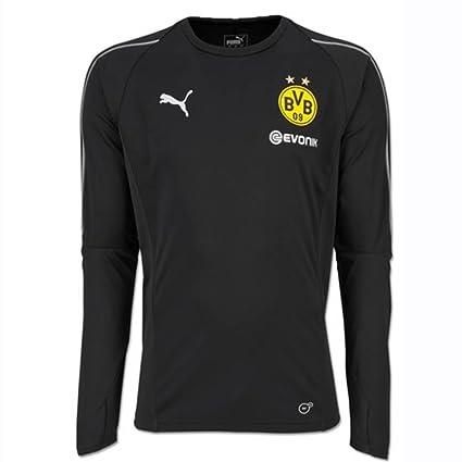 Amazon.com   PUMA 2018-2019 Borussia Dortmund Long Sleeve Training ... 417014b2c