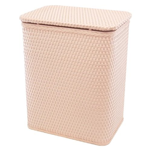 Tea Hamper - RedmonUSA Redmon for Kids Chelsea Pattern Wicker Nursery Hamper, Tea Rose